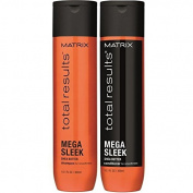 Total Results Mega Sleek Shampoo & Conditioner 300ml