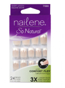 Nailene So Natural Perfect Fit Glue-On Nails Pink