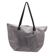 Roberto Amee Woven Straw Tote Bag