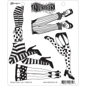 Dyan Reaveley's Dylusions Cling Stamp Collections 22cm x 18cm -Daddy Long Legs