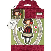 Gorjuss Santoro Rubber Stamp Dear Apple