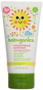 BabyGanics - Sunscreen Mineral Based Broad Spectrum Fragrance Free 50 SPF - 60ml