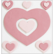 Jolee's Confections 'Fondant Hearts' Stickers