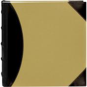 5-Up High Capacity 30cm x 30cm Photo Album 500 Pocket-Black/Beige