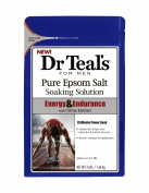Dr. Teals Pure Epsom Salt for Men, Energy & Endurance