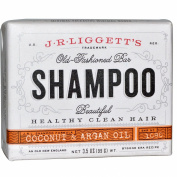 Best J.R. Liggett's, Old Fashion Bar, Shampoo, Coconut & Argan Oil, 100ml (99 g), ( 4 PACK ), Apex, Pill Pulverizer