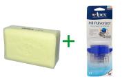 Best European Soaps, LLC, Pre de Provence, Bar Soap, Linden, 260ml (250 g), ( 4 PACK ), Apex, Pill Pulverizer