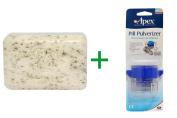Best European Soaps, LLC, Pre de Provence, Bar Soap, Mint Leaf, 260ml (250 g), ( 4 PACK ), Apex, Pill Pulverizer