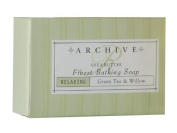 Archive Essentials Green Tea & Willow Bath Soap 70ml Each, Set of 9