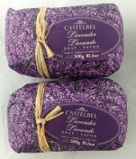 Castelbel Lavender 300gram Bath Soap Bar - 2 Bars