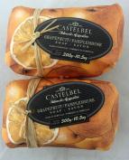 Castelbel Grapefruit 300gram Bath Soap Bar - 2 Bars