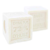 Foufour Natural Palm Oil Beige Marseille Soap Cube 600G Traditional French Receipt