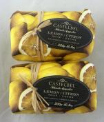 Castelbel Lemon 300gram Bath Soap Bar - 2 Bars