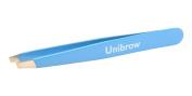 """Sky Blue """"Unibrow"""" Tweezer"""