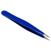 HTS 172P4 7.6cm Blue Mini Sharp Travel Tweezers