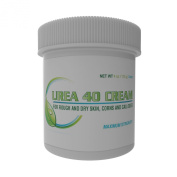Urea Cream 40 | Corn and Callus Remover, Superb Exfoliator and Moisturiser for Dry Skin