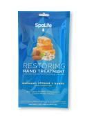 Spa Life Restoring Hand Treatment Gloves - Oat Meal, Almond & Honey Mix - Anti-Ageing + Moisturiser