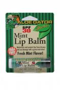Aloe Gator Lip Balm SPF 30 Mint