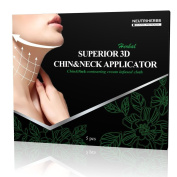 5 Pack Neutriherbs Superior 3D Chin up & Neck Body Wraps it Works for DOUBLE V-LINE REDUCTION