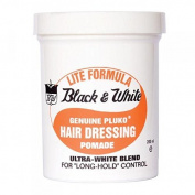 Black & White Wax Pomade Lite 198G