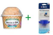 Best Smith and Vandiver Bath Fizz, Double-Dip, Fizz & Foam For The Bath, Mandarin Zest, 120ml (113 g), ( 4 PACK ), Apex, Pill Pulverizer