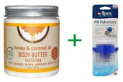 Best Petal Fresh, Body Butter, Restoring, Honey & Coconut Oil, 8 oz (237 ml), ( 4 PACK ), Apex, Pill Pulverizer