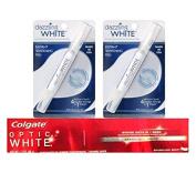 Dazzling White Teeth Whitening Kit - (2) Instant Whitening Pens - Professional Strength Plus Bonus Whitening Toothpaste