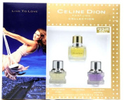 Celine Dion Collection Perfume by Celine Dion for Women. 3 Pc. Gift Set