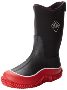 Muck Boot Kids Hale Wellington Boots - Black Red