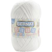 Big Ball Baby Sport Yarn -Sparkle-White Sparkle