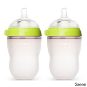Comotomo Natural Feel 240ml Baby Bottles