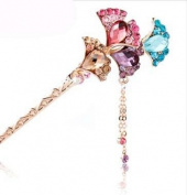 STEVE YIWU® Chinese Classical Princess Empress Ladies Hairpin Hair clip Combs Step Shake