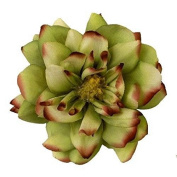 Dashing Dahlia Artificial Flower Hair Clip/Pin Brooch