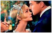 STEVE YIWU® The Great Gatsby Inspired Bling Shiny Imitation Pearls Rhinestone Crystal Leaves Headband Silver Tiara