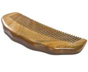 Angela Star Sandalwood Hair Side Comb Mini Wood Pocket Hair Comb