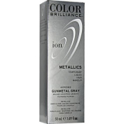 Ion Colour Brilliance Metallics Temporary Liquid Hair Makeup Gunmetal Grey