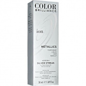 Ion Colour Brilliance Metallics Temporary Liquid Hair Makeup Silver Streak