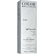 Ion Colour Brilliance Metallics Temporary Liquid Hair Makeup Silver Streak