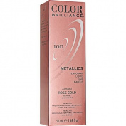 Ion Colour Brilliance Metallics Temporary Liquid Hair Makeup Rose Gold