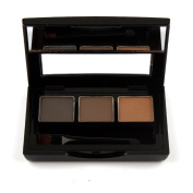 Mallofusa 3 Colours Shades of Eyebrow Powder Cake Pwoder Brow Powder Eye Brow