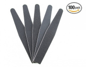 Professional Black Diamond Emery Board 100/180 Grit Made in Korea - 100 pieces, Nail buffer, nail block, nail shine, gently grind your nails, sanding paper, cushion file, professional, pedicure, manicure, salon, buffing