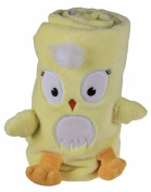 Premium Yellow Bird Toddler's Roll Up Blanket