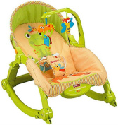 NEW! Fisher's Price Newborn-To-Toddler Portable Low-profile Frame Rocker