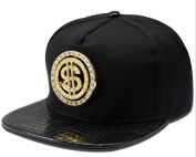 BUIDI N04 Classic iron mark rotation dollar hip-hop tide brand cotton baseball cap flat-brimmed hat
