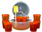 "Maxx Elite ""Clear"" Microwave Steriliser Gift Set"