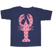 Lost Gods Lobster Print Toddler Graphic T Shirt - Lost Gods