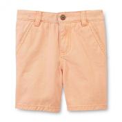 Route 66 Toddler Boy's Canvas Shorts, 2T, Orange
