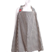 ESMERALDA Nursing Cape Black Stripe S [Made in Japan]