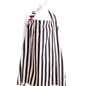 ESMERALDA Nursing Cape Black Stripe W [Made in Japan]
