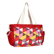 Landuo Red Mutifunctional Large Nappy Bags For Women in Luggage and Travel Gear candy colour